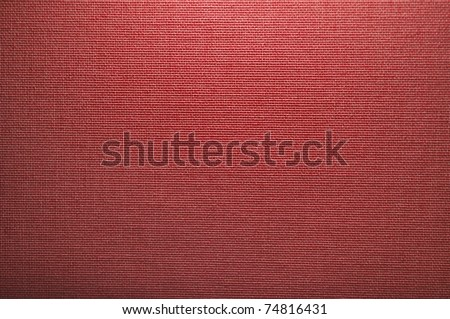 red canvas texture - stock photo
