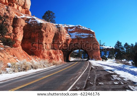 red Canyon - stock photo