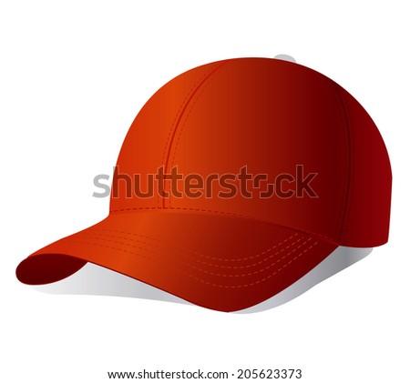 Red cap - stock photo