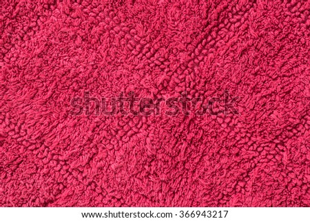 red carpet. Background Textile texture - stock photo