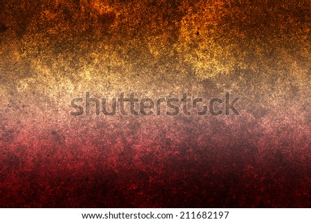 Red cement background - stock photo