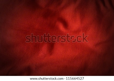 Red Cotton Background texture pattern for design - stock photo