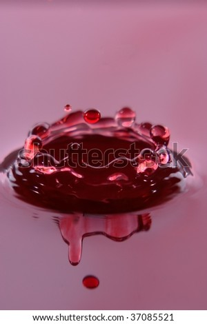 red Crown - stock photo