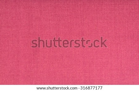 red curtain fabric - stock photo