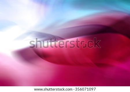Red Curves Abstract Background - stock photo