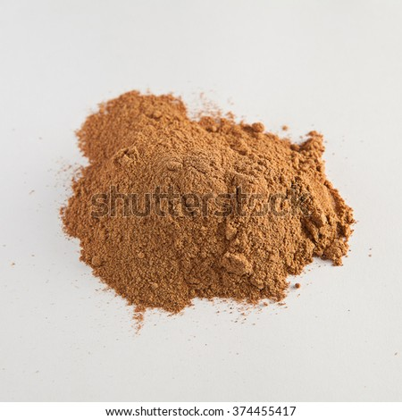 Red dried plant extract  - stock photo