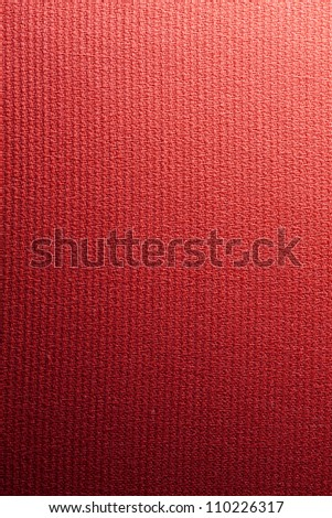 Red fabric cloth vintage canvas background texture - stock photo