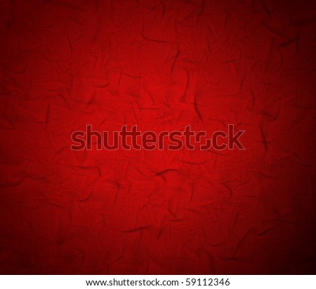 red fabric  texture  of background - stock photo