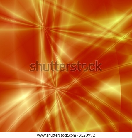 Red fantasy background - stock photo