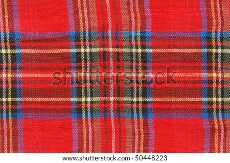 red flannel - stock photo