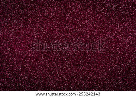 Red glitter shines for texture or background - stock photo