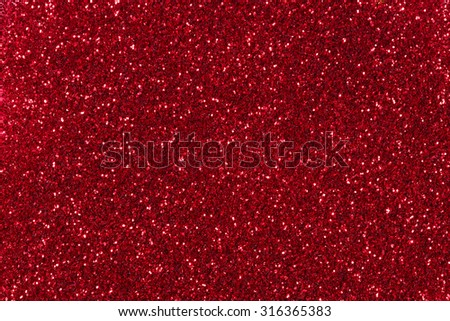 Red glitter texture christmas background. - stock photo