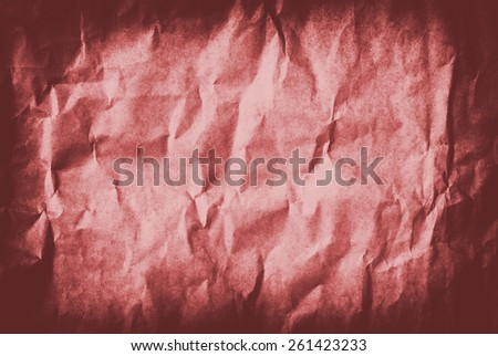 red Grunge vintage old paper background - stock photo