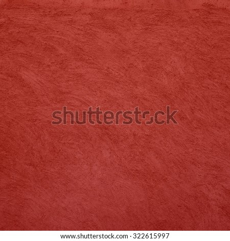 Red grunge wall texture. - stock photo