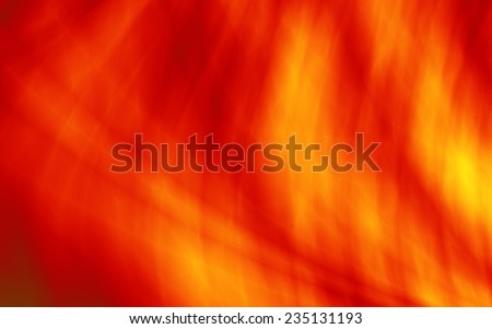 Red heat abstract love Valentine card design - stock photo