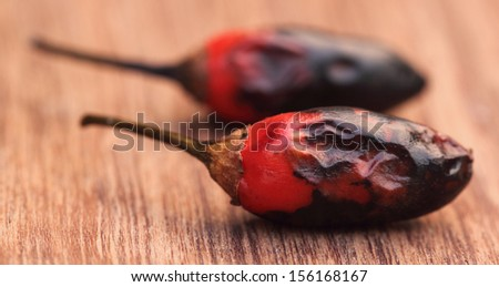 Red hot chili - stock photo
