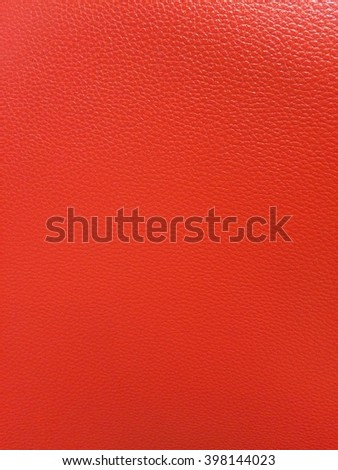 Red leather abstract background - stock photo