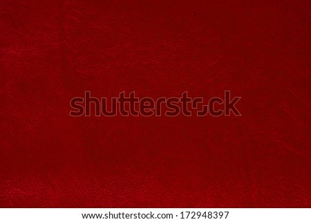red leather texture used for background with empty space. - stock photo