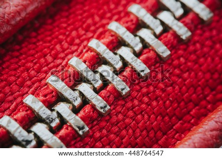 red leather with zipper texture - stock photo