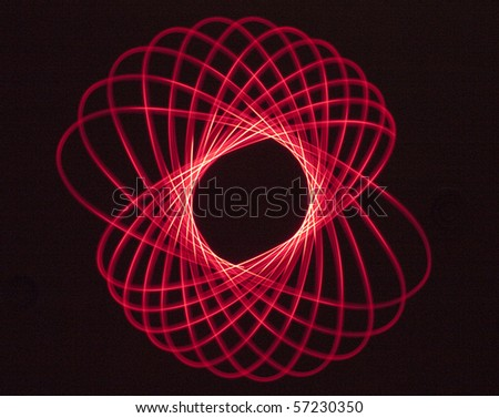 Red Light Pattern - stock photo