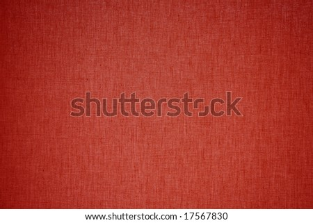 red linen background - stock photo
