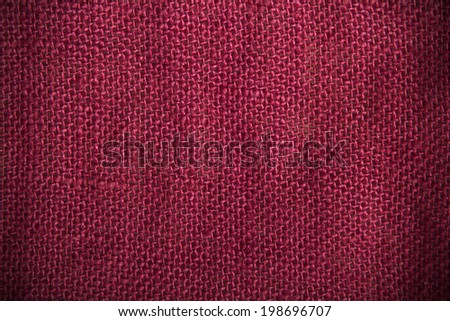 red linen texture for background - stock photo