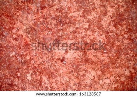 Red marble wall - stock photo