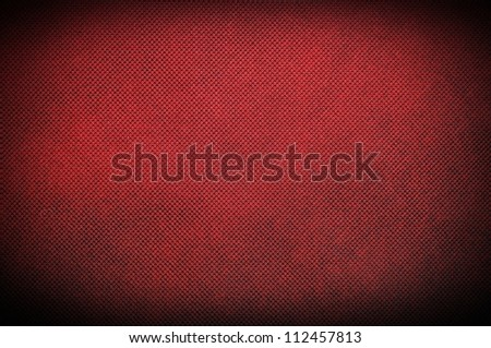 Red material polipropylen texture or background - stock photo