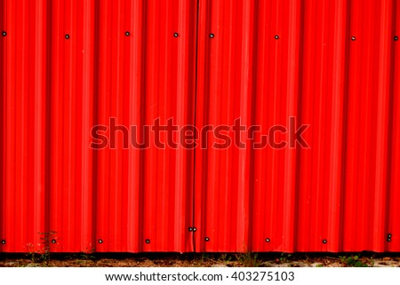 Red metal sheet background - stock photo