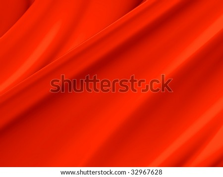 Red orange abstract paint toss liquid splash background illustration. - stock photo