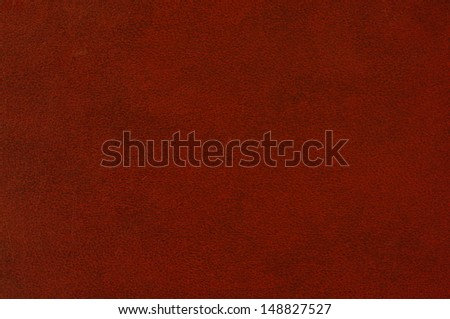 Red paint leather background or texture  - stock photo