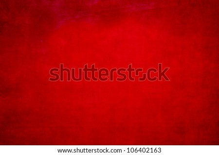 Red painted metal background - stock photo