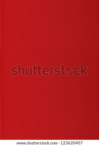 Red Paper - stock photo