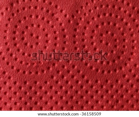 red paper texture - stock photo