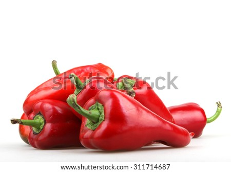 Red Pepper - stock photo