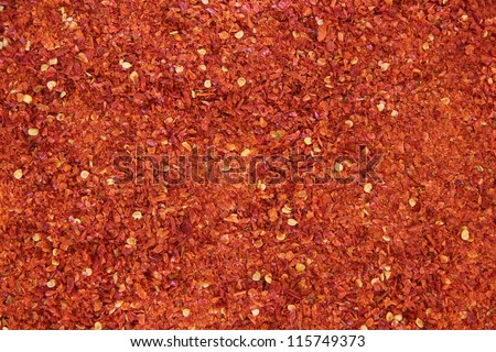 Red peppers - stock photo