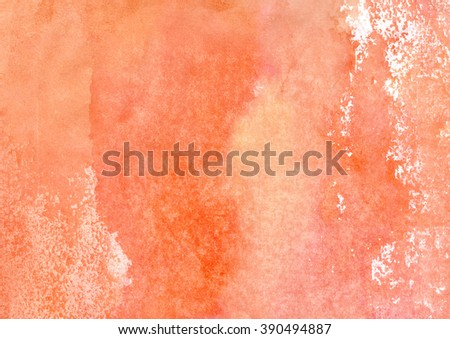 red-pink watercolor shades - stock photo