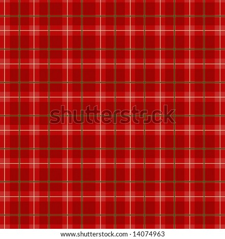 Red plaid paper - stock photo