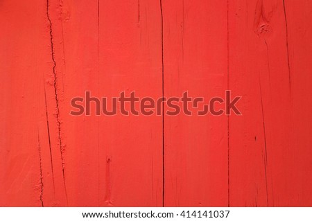 red planks background or wooden boards texture - stock photo