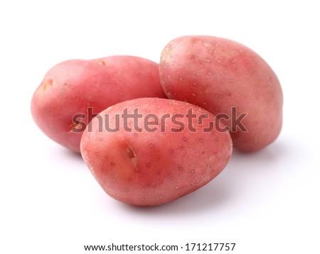 Red potato - stock photo