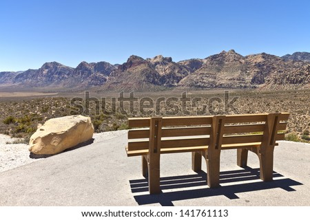 Red Rock Canyon Las Vegas Nevada. - stock photo