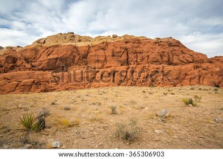 Red Rock Canyon near Las Vegas, Nevada. - stock photo