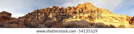 Red Rock Canyon near Las Vegas, Nevada - stock photo