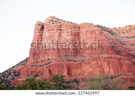 Red Rock Formations in Sedona, Arizona - stock photo