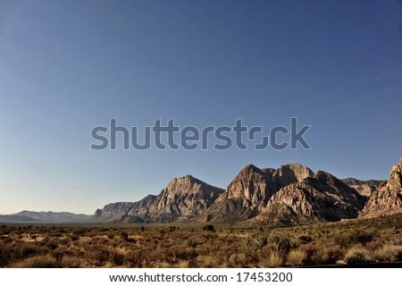 Red Rock, Las Vegas - stock photo