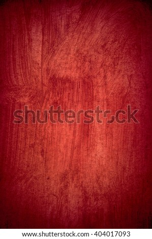 Red rough wooden board as background texture. - stock photo