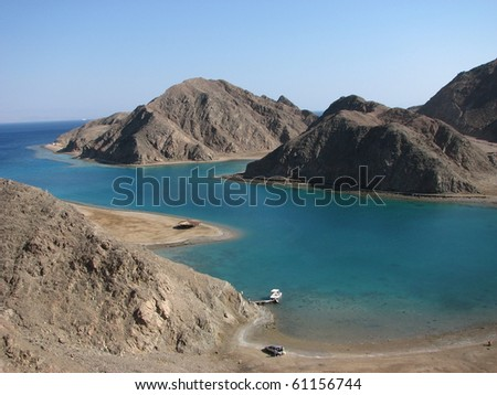 Red Sea in Egypt - stock photo