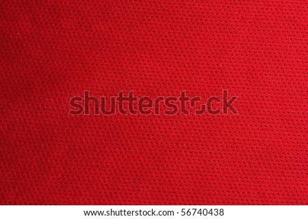 Red sport fabric texture - stock photo