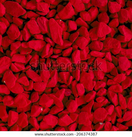 red  stone texture background - stock photo