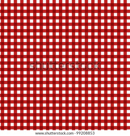 red tablecloth texture - stock photo